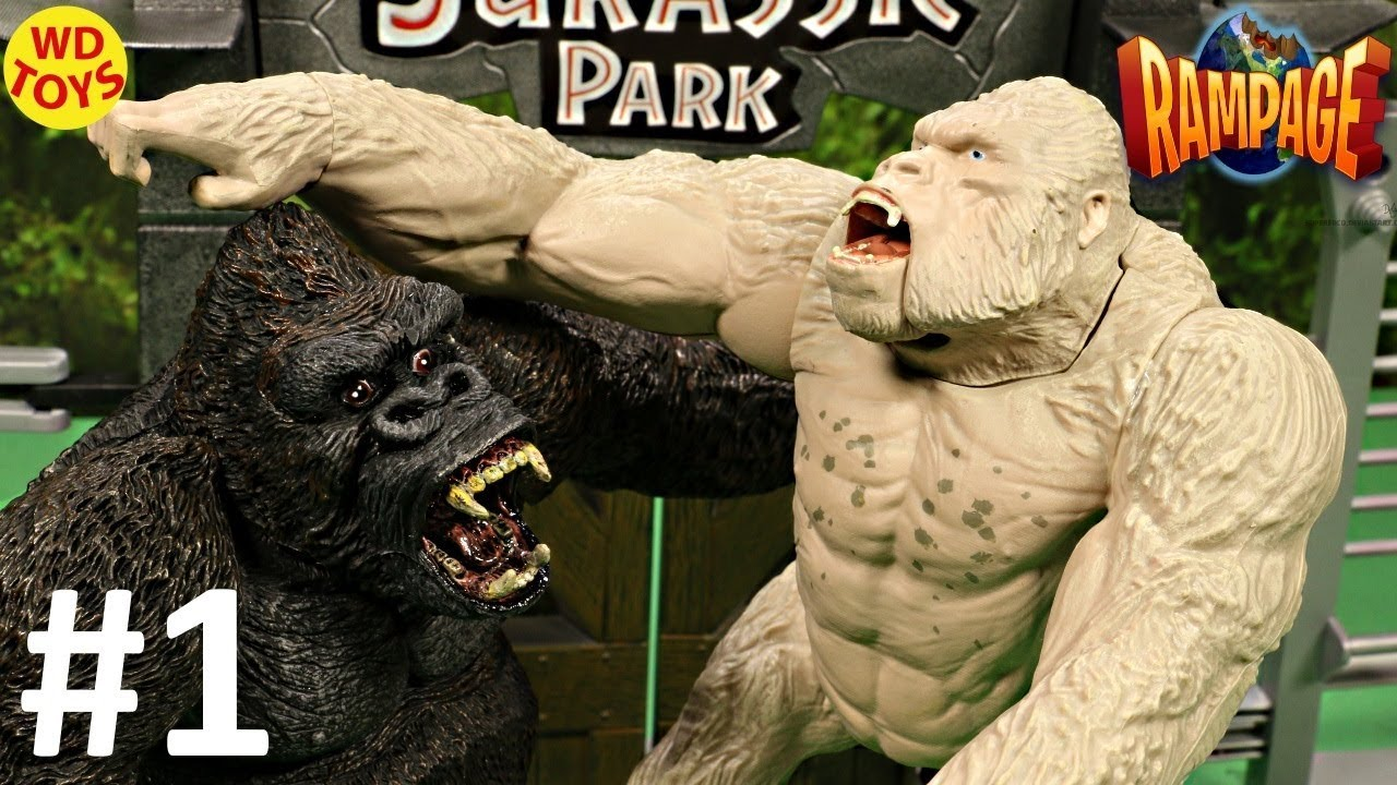 Rampage The Movie King Kong Vs Subject George Canister Contact Genetic Containment Division Unboxing