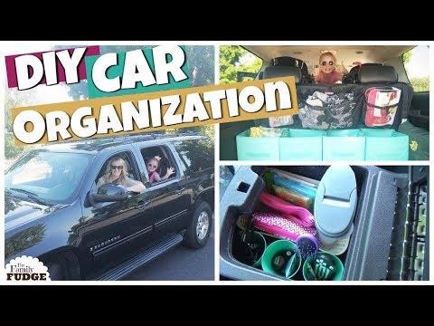 DIY CAR ORGANIZATION IDEAS || Dollar Tree HACKS || Large Family Suburban
