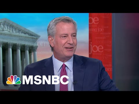 Bill De Blasio: New York City Has Made A Remarkable Comeback