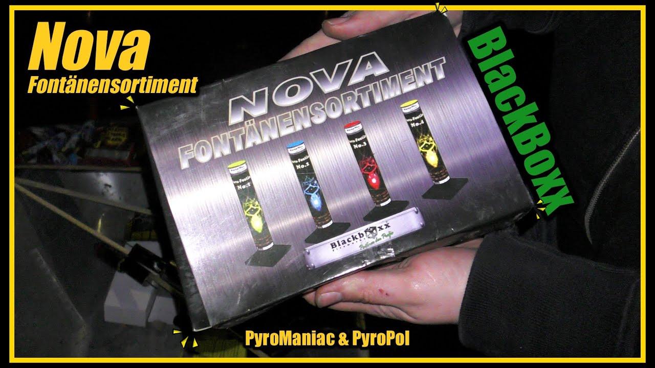 NOVA Fontänensortiment von BlackBoxx | PyroManiac & PyroPol