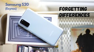 Samsung S20 (Exynos 990) Review After 3 Months: Forgetting Differences