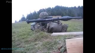 Entrenamiento del Ejercito del Perú con el Panzerfaust 3