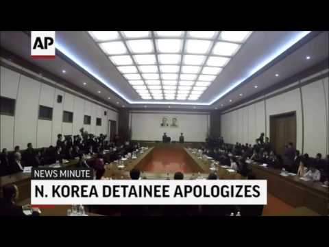 U.S. Citizen Detained By North Korea Apologizes