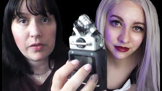 #ASMR Paranormal Investigation of haunted house + ghost sighting - Collab with Oopsydaisy ASMR