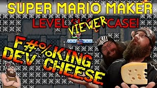 SUPER MARIO MAKER - F#%KING DEV CHEESE! - VIEWER LEVELS #5!