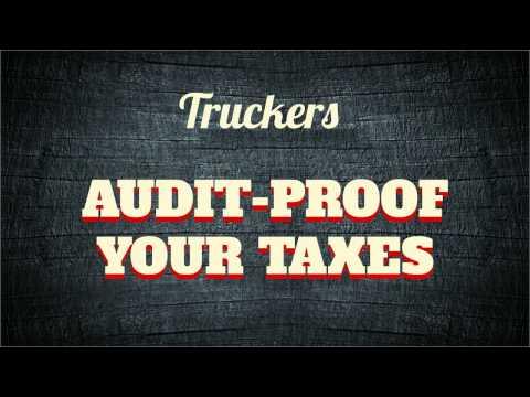 Truckers: Audit Proof Your Return