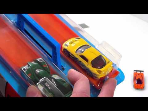 Hot Wheels 2016 Mystery Model toy cars Race using Mattel