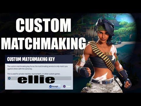 CUSTOM MATCHMAKING EU & NAE   FORTNITE LIVE   Girl Gamer   CODE IS IN CHAT