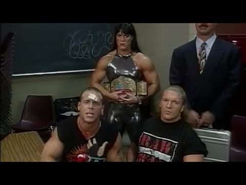 Shawn Michaels officially names D-Generation X: Raw, October 13, 1997