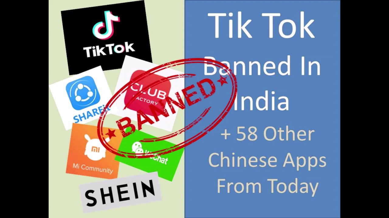 Tik Tok Banned In India l Top 59 Chinese apps get banned in India l India Vs China 2020