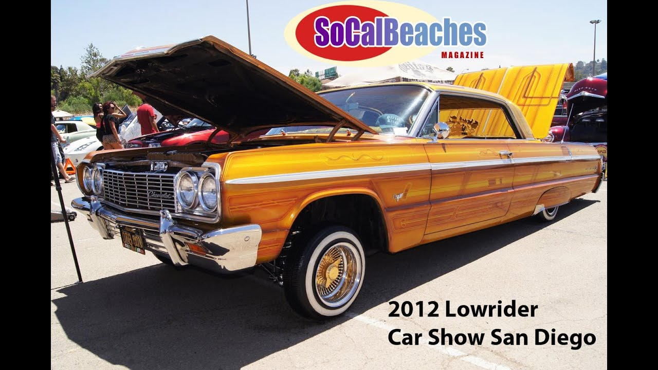 San Diego Lowrider Classic Custom Car Show Youtube