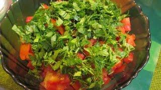 Салат с тунцом. Вкусный рецепт. // Олег Карп