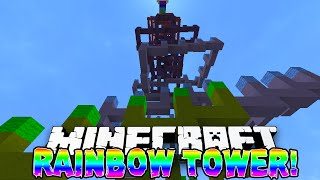 Minecraft - RAINBOW TOWER PARKOUR! w/ Preston & Vikkstar!