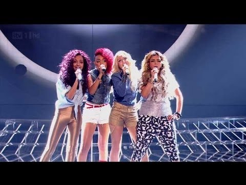 Rhythmix are an urban fantastic four - The X Factor 2011 Live Show 1 (Full Version)