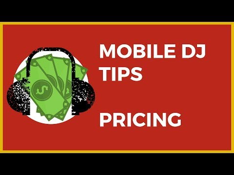 How Much Should You Charge To DJ A Party Or Wedding