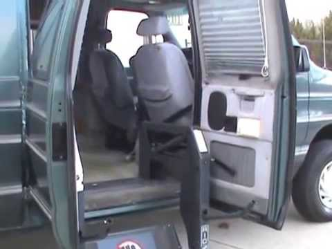 1997 Ford E 250 Wheelchair Van Handicap Lowered Floor For Sale Charlotte NC EJ Dulina