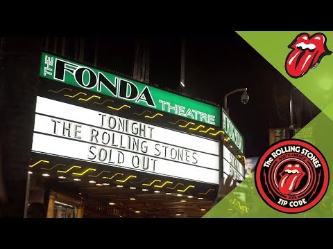 The Rolling Stones play STICKY FINGERS show in Los Angeles