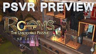 Rooms: The Unsolvable Puzzle (ps4/psvr) Preview   Coming Spring 2018