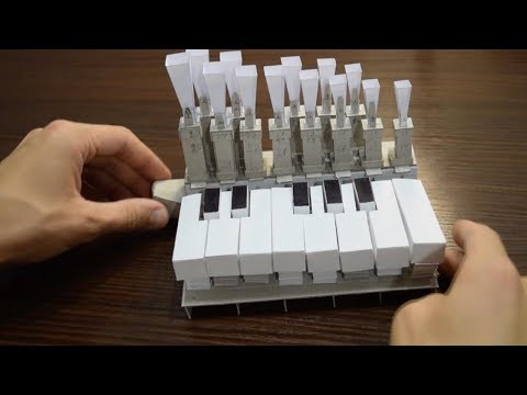 Mini Organ Made From Paper