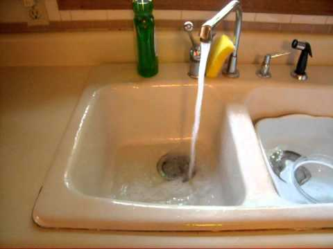 Pringels Can Lid Used As Kitchen Sink Stopper