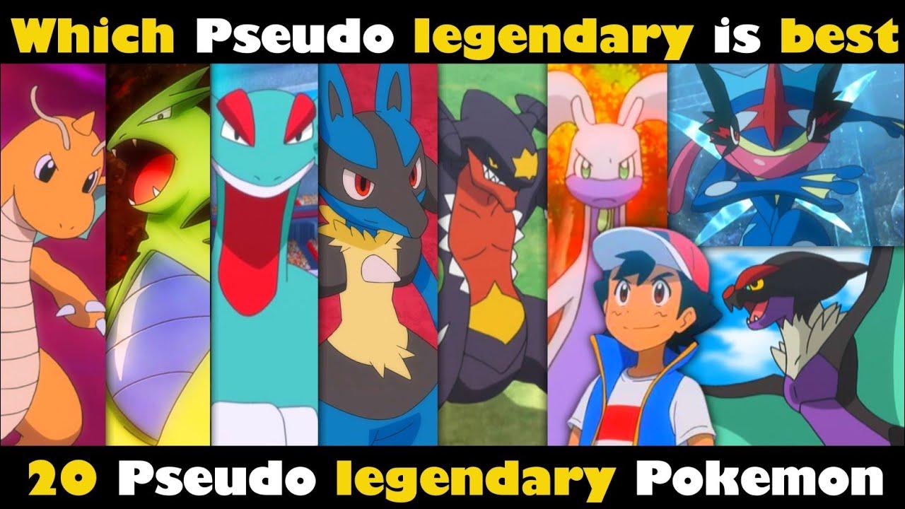 strongest pseudo legendary Pokemon    Which pseudo legendary Pokemon    20 pseudo legendary Pokemon