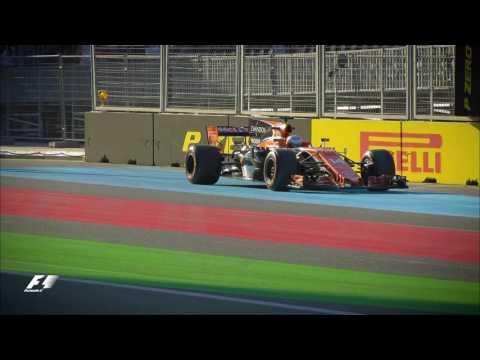 2017 Azerbaijan Grand Prix: FP2 Highlights