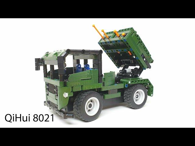 QiHui 8021 Raketenwerfer • 2 in 1 Set mit Fernsteuerung • Unboxing & Review