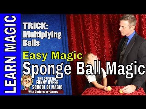 Learn Magic Tricks: Sponge Ball Magic (REVEALED)