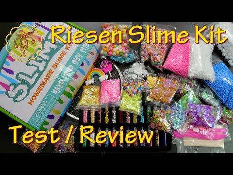 Test / Review: Riesen Slime Kit
