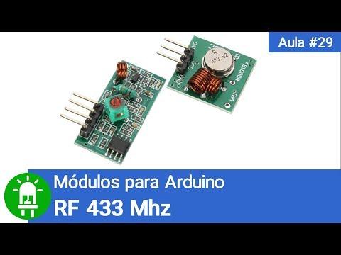 Como Usar E Programar O Módulo RF433 - Vídeo #29