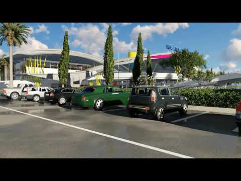 JK NYERERE AIRPORT ANIMATION