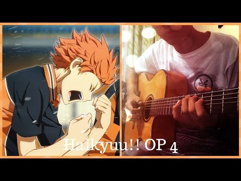 (TABS) Haikyuu!! OP 4 Fly High - BURN OUT SYNDROMES- Fingerstyle Guitar Cover