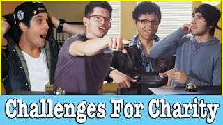 talking hit   challenges for charity