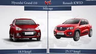 Hyundai Grand i10 vs Renault KWID