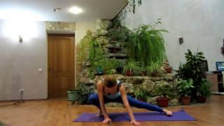 Эффективная растяжка на шпагат за 10 минут  Stretching the splits