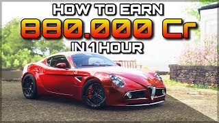 Forza Horizon 4 | How to earn 880.000 Credits in 1 hour! | [1.3mio if you unlocked Goliath]