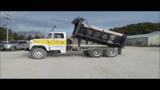 1995 Ford L9000 dump truck for sale | no-reserve Internet auction November 30, 2016