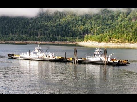 MV Shelter Bay ferry crew transfer