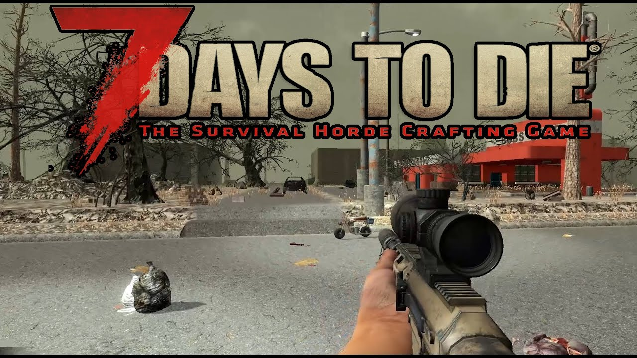 7 days to die online 20 na kawk do miasta youtube. Black Bedroom Furniture Sets. Home Design Ideas