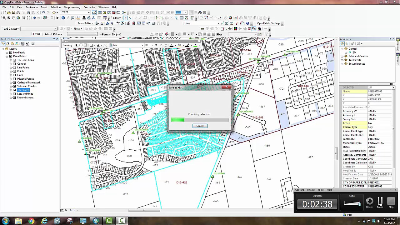 ArcGIS Parcel Fabric Editing #11- Export and Append Parcels