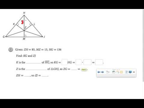 Perpendicular Bisectors of Triangles