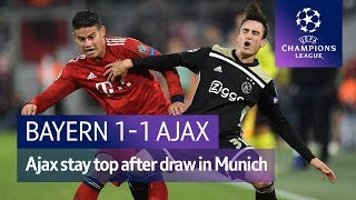 Bayern vs Ajax (1-1) UEFA Champions League Highlights