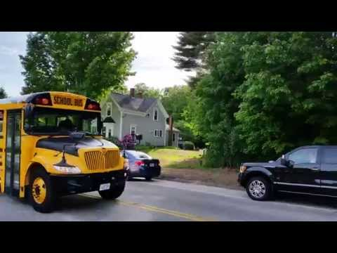 Greely High School Class of 2015 Bus Parade -- 6/7/2015