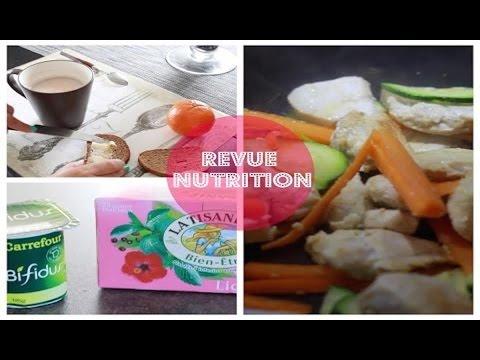 [Revue n°25] Mes repas avant/après la Nutritionniste - YouTube