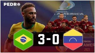 Brasil Vs Venezuela (3-0)