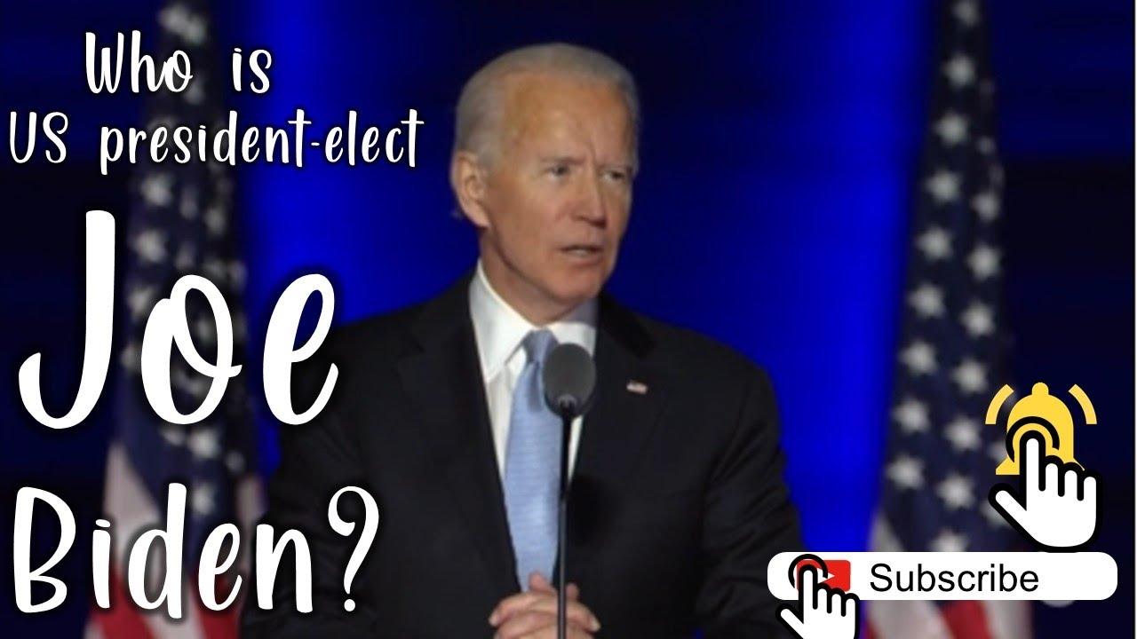 Who is US President-Elect Joe Biden ? #JoeBiden #USElection #USElectionResult2020 #USVotes