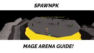 SpawnPK How To #2: Mage Arena [30B PER HOUR!?]