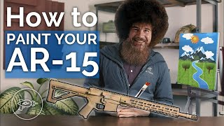 How to Paint Your AR-15 [Forget the Camo Krylon!]