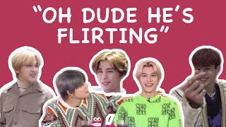 nct flirt line is ready to take your heart.