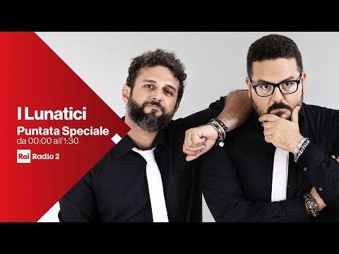 I Lunatici speciale allunaggio - Diretta del 21/07/2019